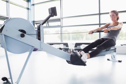 Romaskine i fitnesscenter