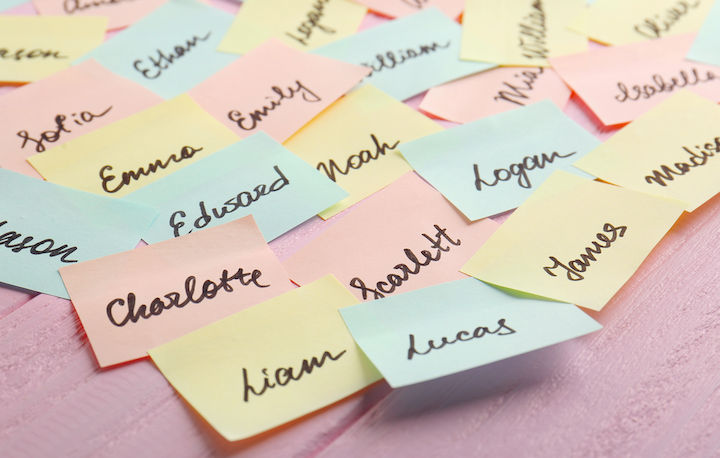 Mest populære drengenavne og pigenavne